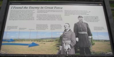 I Found the Enemy in Great Force Marker image. Click for full size.