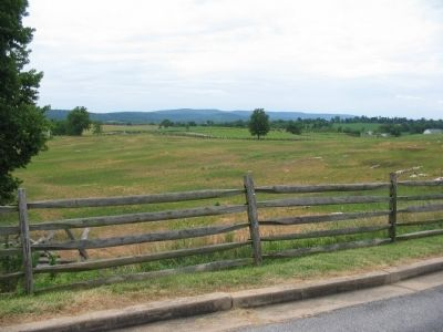 View of the Sunken Road from the Wayside image. Click for full size.