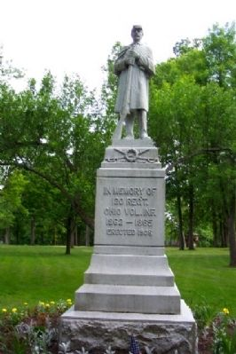 120th Ohio Volunteer Infantry Memorial Photo, Click for full size