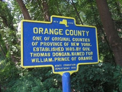 Orange County Marker image. Click for full size.