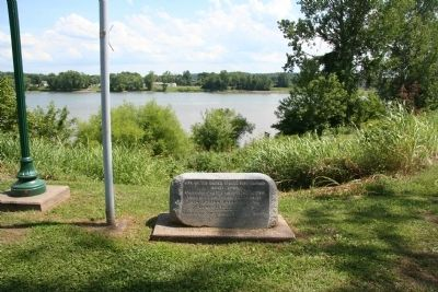 Site of the United States Fort Harmar Marker image. Click for full size.
