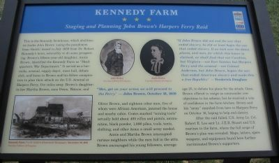 Kennedy Farm Marker image. Click for full size.