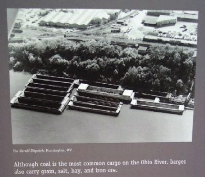 Barges Photo on Boats on the Ohio Marker image. Click for full size.