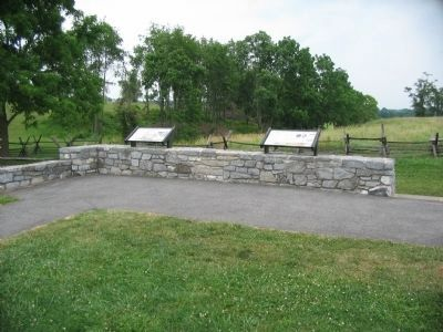 New Wayside at the Sunken Road Overlook image. Click for full size.