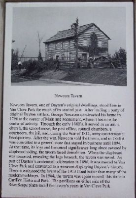 Newcom Tavern Marker image. Click for full size.