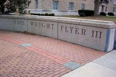 1905 Wright Flyer III Plaza image. Click for full size.