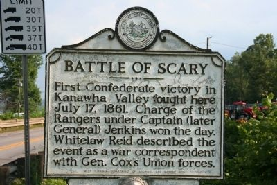 Battle of Scary Marker image. Click for full size.