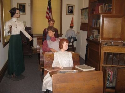 School Room Exhibit image. Click for full size.