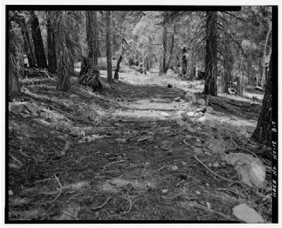 Historic Flume and Lumberyard Spur image. Click for full size.