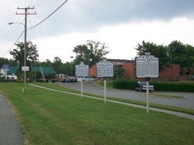 Six-Mile Ordinary, Spencer's Ordinary and Green Spring Markers Photo, Click for full size
