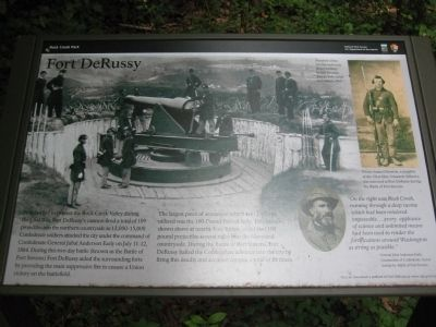 Fort DeRussy Marker image. Click for full size.