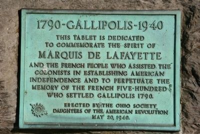 1790-Gallipolis-1940 Marker image. Click for full size.