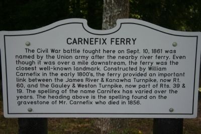 Carnefix Ferry Marker image. Click for full size.