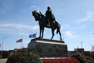 General George A. Custer Memorial Photo, Click for full size