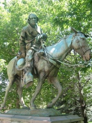 Kit Carson 1843 – 44 Statue image. Click for full size.