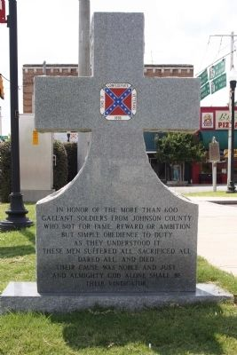 Confederate Memorial Marker image. Click for full size.