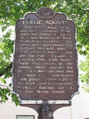 Public Square Marker Photo, Click for full size