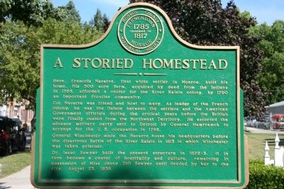 A Storied Homestead Marker image. Click for full size.