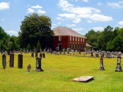 Cedar Springs A.R.P. Church and Cemetery image. Click for full size.