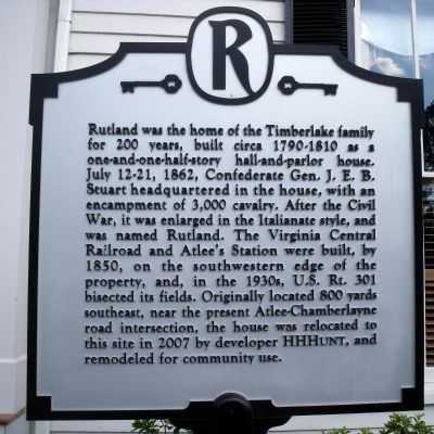 Rutland Marker image. Click for full size.