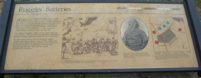 Ruggles' Batteries Marker Photo, Click for full size
