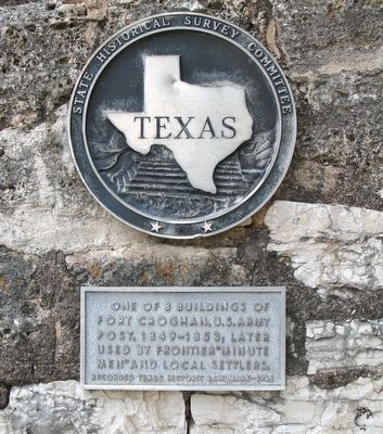 Powder House Plaque Photo, Click for full size