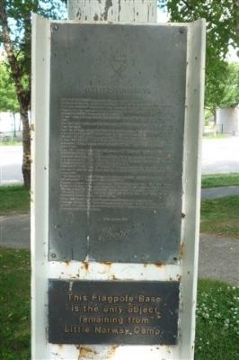 Little Norway Marker Panel 1 Photo, Click for full size