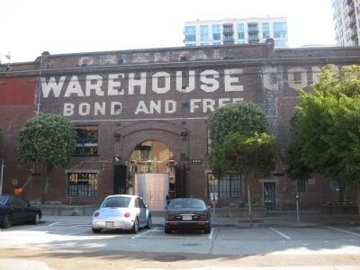 The Oriental Warehouse - Entrance image. Click for full size.