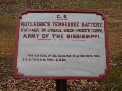 Rutledge's Tennessee Battery Tablet image. Click for full size.
