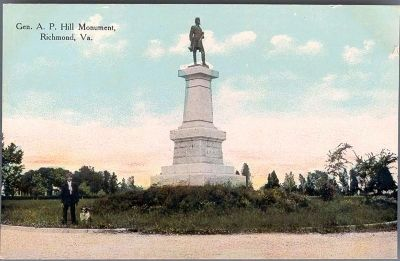 Gen. A.P. Hill Monument, Richmond, Va. Photo, Click for full size
