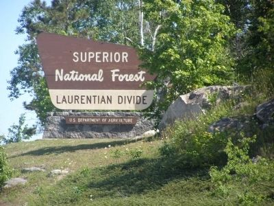 The Laurentian Divide (Superior National Forest) image. Click for full size.