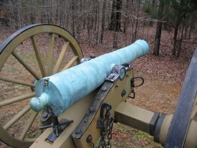 6-pdr Confederate Field Gun image. Click for full size.