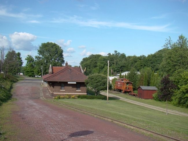 Barnesville B&O Station image. Click for full size.