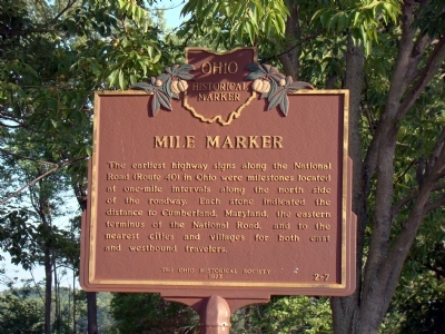 Mile Marker Marker Photo, Click for full size