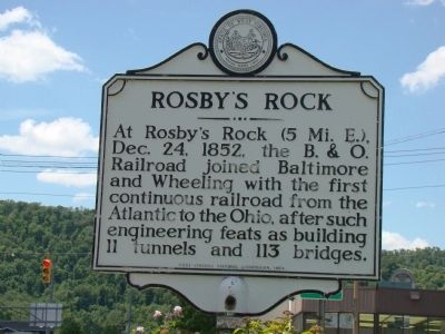 Rosby's Rock Marker image. Click for full size.