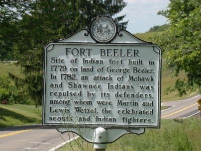 Fort Beeler Marker Photo, Click for full size