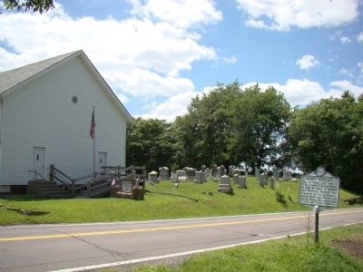 Marker and Beeler Station Christian Church Photo, Click for full size