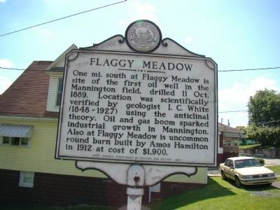 Flaggy Meadow face of Marker image. Click for full size.