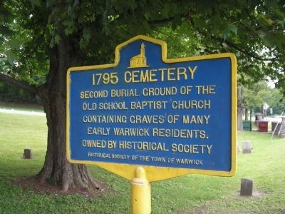 1795 Cemetery Marker image. Click for full size.