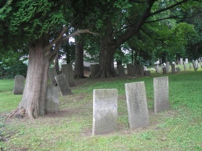 1795 Cemetery image. Click for full size.