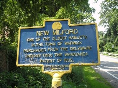 New Milford Marker image. Click for full size.