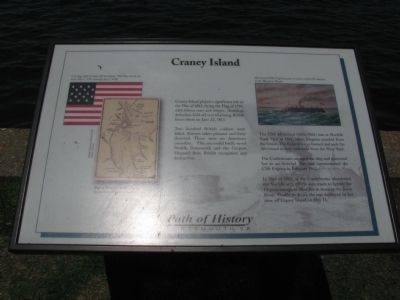 Craney Island Marker image. Click for full size.