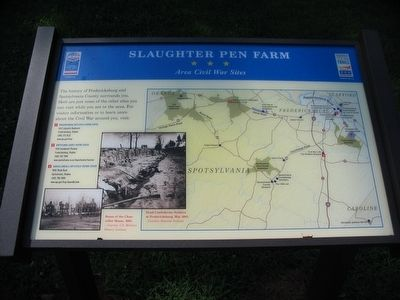 Slaughter Pen Farm<br>Area Civil War Sites image. Click for full size.