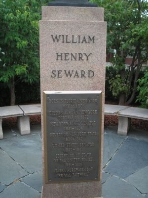 William Henry Seward Marker image. Click for full size.