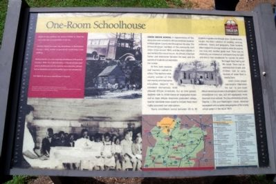 One-Room Schoolhouse CRIEHT Marker image. Click for full size.