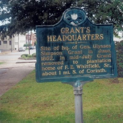 Grant�s Headquarters Marker Photo, Click for full size
