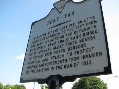 Fort Tar Marker Photo, Click for full size