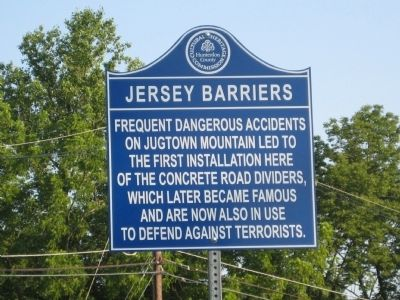 Jersey Barriers Marker image. Click for full size.