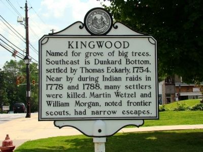 Kingwood Marker image. Click for full size.