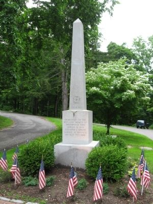 Brookfield Veterans Monument image. Click for full size.